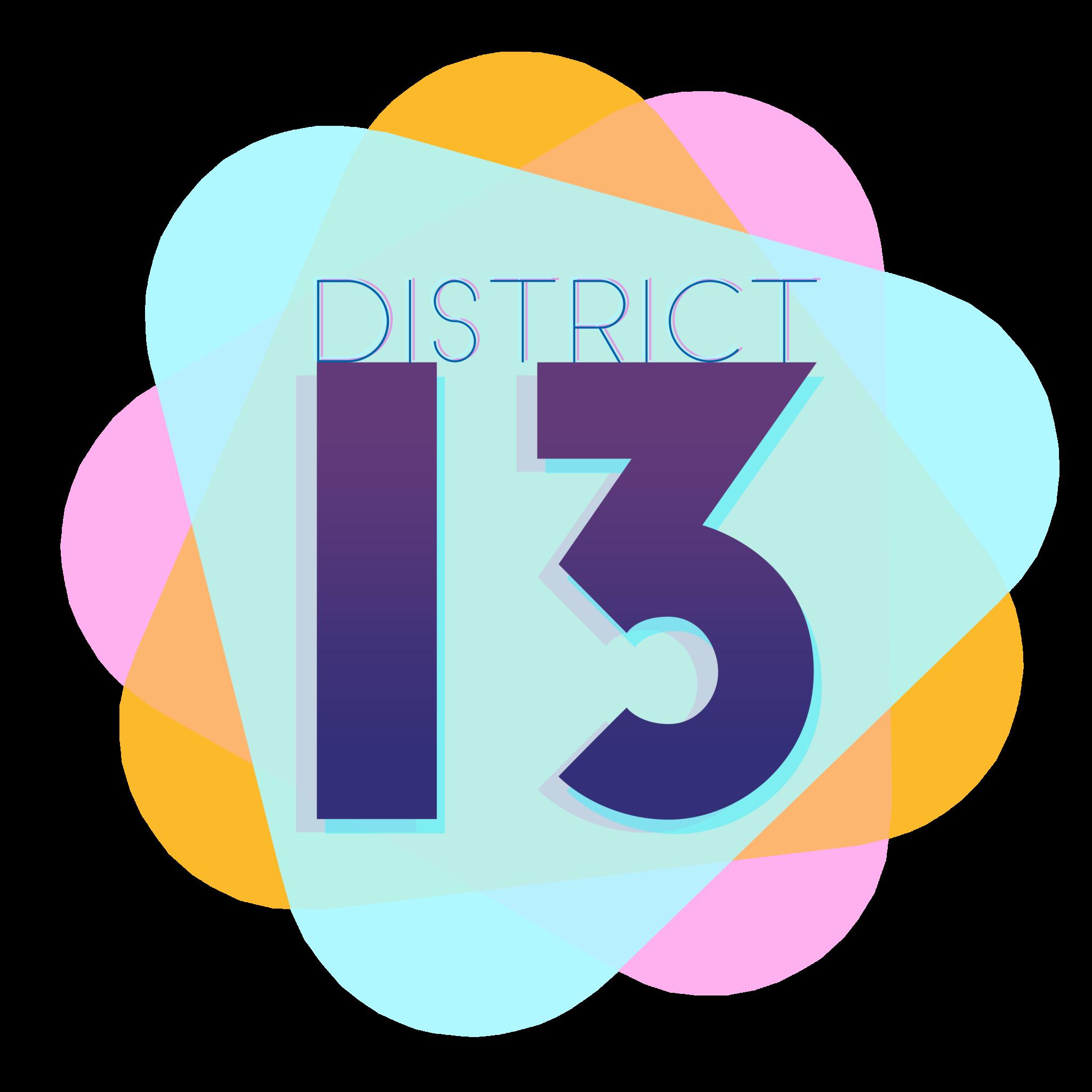 District 13 Thespians